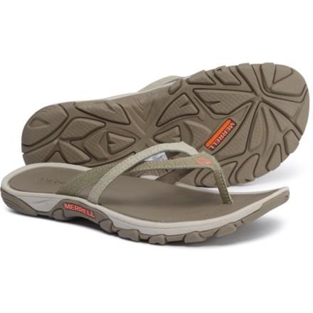 15d63e76d095 Merrell Enoki Flip-Flops (For Women) in Brown