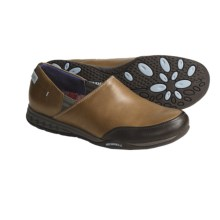 Merrell Entice Shoes - Leather (For Women) in Saddle - Closeouts