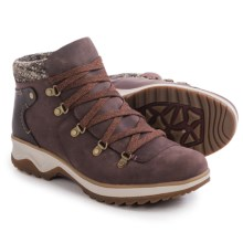 Merrell Eventyr Bluff Leather Boots - Waterproof (For Women) in Wine - Closeouts