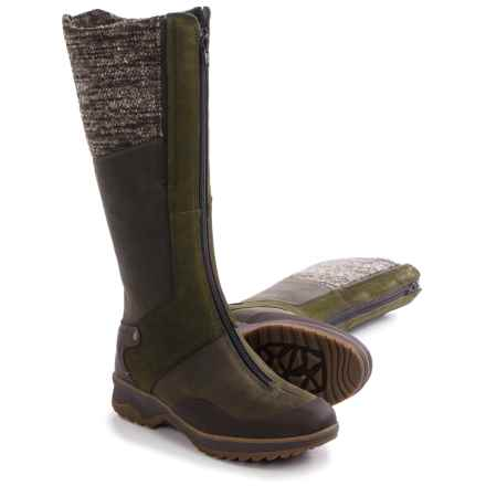 Merrell Eventyr Cuff Leather Boots - Waterproof, Insulated (For Women) in Bungee Cord - Closeouts