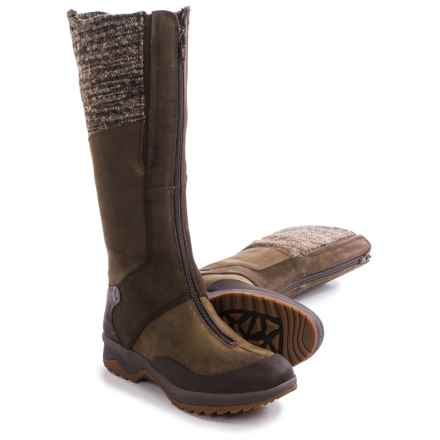 Merrell Eventyr Cuff Leather Boots - Waterproof, Insulated (For Women) in Dark Earth - Closeouts
