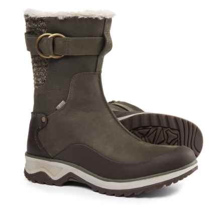 Merrell Eventyr Mid North Leather Boots - Waterproof, Insulated (For Women) in Bungee Cord - Closeouts