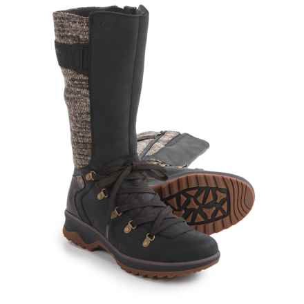 Merrell Eventyr Peak Boots - Waterproof, Leather (For Women) in Black - Closeouts