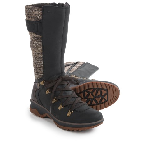 Merrell Eventyr Peak Boots - Waterproof, Leather (For Women) in Black