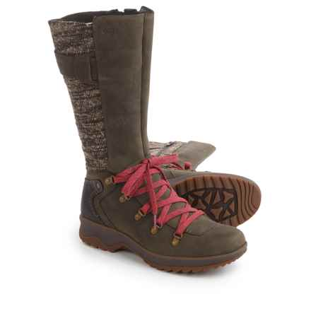 Merrell Eventyr Peak Boots - Waterproof, Leather (For Women) in Bungee Cord - Closeouts