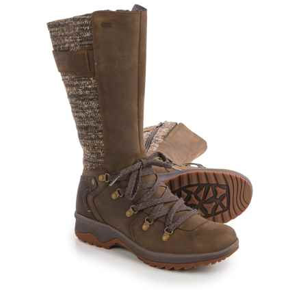 Merrell Eventyr Peak Boots - Waterproof, Leather (For Women) in Dark Earth - Closeouts