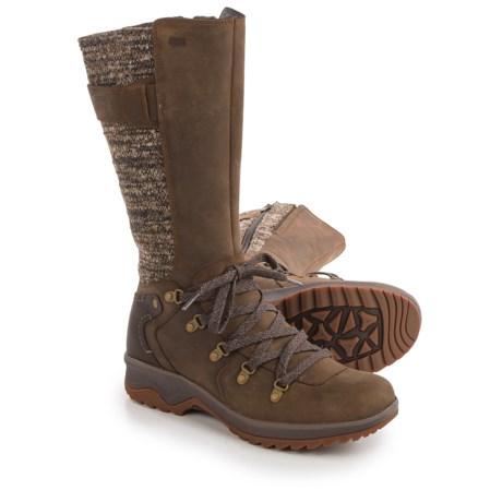 Merrell Eventyr Peak Boots - Waterproof, Leather (For Women) in Dark Earth