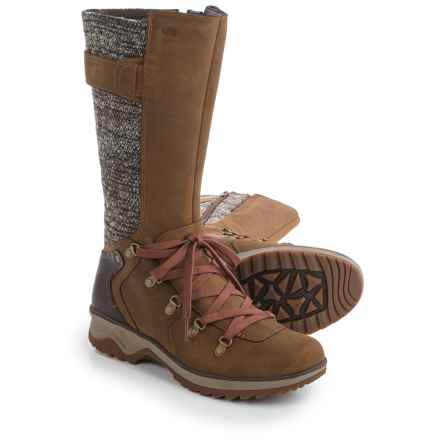 Merrell Eventyr Peak Boots - Waterproof, Leather (For Women) in Merrell Tan - Closeouts