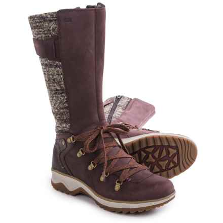 Merrell Eventyr Peak Boots - Waterproof, Leather (For Women) in Wine - Closeouts