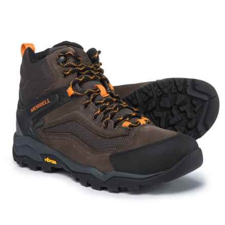Merrell Everbound Ventilator Mid Hiking Boots - Waterproof (For Men) in Slate Black - Closeouts