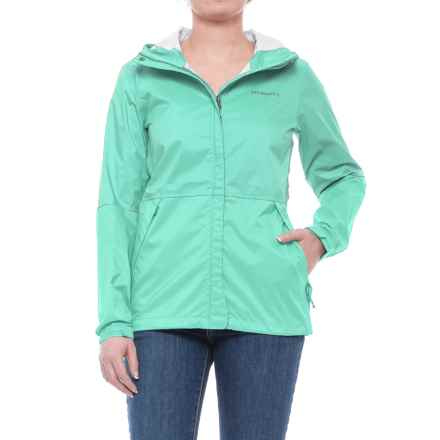 Merrell Fallon Rain Shell Jacket - Waterproof (For Women) in Cockatoo Sld - Closeouts