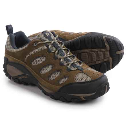 Merrell Faraday Hiking Shoes (For Men) in Merrell Stone/Ebony - Closeouts