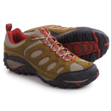 Merrell Faraday Hiking Shoes - Waterproof (For Men) in Kangaroo/Red Ochre - Closeouts