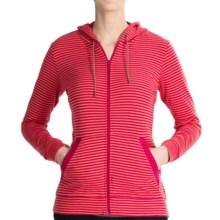 Merrell Finley Hoodie - Supima® Cotton (For Women) in Fuchsia/Nect - Closeouts