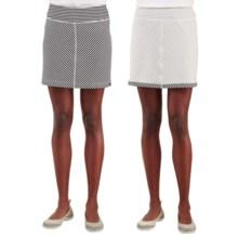 Merrell Finley Skirt - UPF 20+, Reversible (For Women) in Black/White - Closeouts