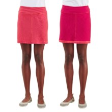Merrell Finley Skirt - UPF 20+, Reversible (For Women) in Fuchsia/Nect - Closeouts