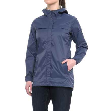 Merrell Fletcher 2L Rain Shell Jacket - Waterproof (For Women) in Crown Blue - Closeouts