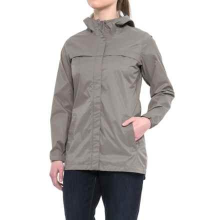 Merrell Fletcher 2L Rain Shell Jacket - Waterproof (For Women) in Steeple Gray - Closeouts