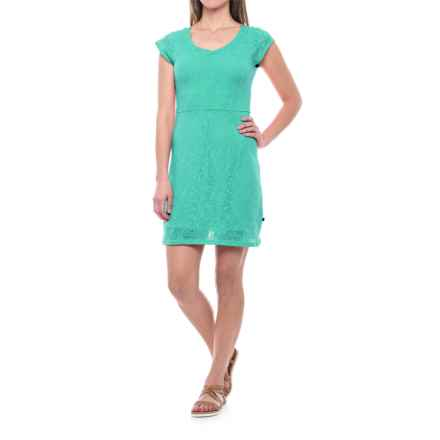 Merrell Flora Dress - Short Sleeve (For Women) in Atlantis - Closeouts