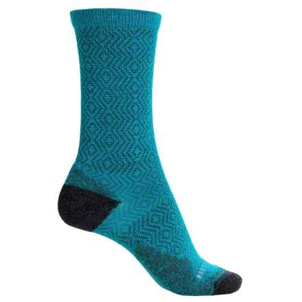 Merrell Flourecien Hiking Socks - Merino Wool, Crew (For Women) in Open Blue - Closeouts