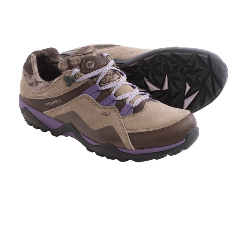 Merrell Fluorecein Hiking Shoes (For Women) in Chocolate Brown