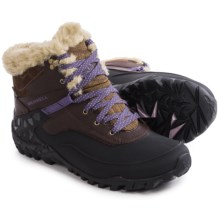 Merrell Fluorecein Shell 6 Snow Boots - Waterproof, Insulated (For Women) in Chocolate Brown - Closeouts