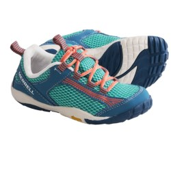 Merrell Flux Glove Lace-Up Shoes - Minimalist (For Kids and Youth) in Classic Green