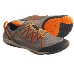 Merrell Flux Glove Sport Running Shoes - Barefoot (For Men) in Wild Dove/Silver