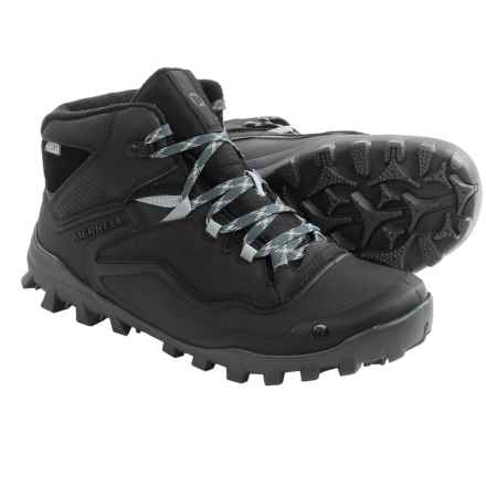 Merrell Fraxion Shell 6 Snow Boots - Waterproof, Insulated (For Men) in Black - Closeouts