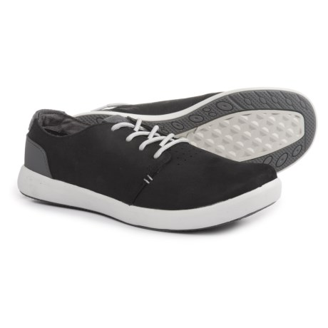 Merrell Freewheel Lace Shoes - Leather (For Women) in Black