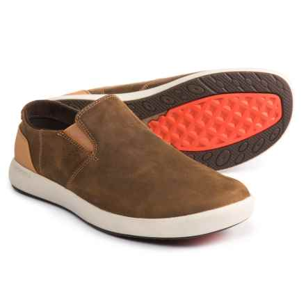 Merrell Freewheel Leather Shoes - Slip-Ons (For Men) in Brown Sugar - Closeouts
