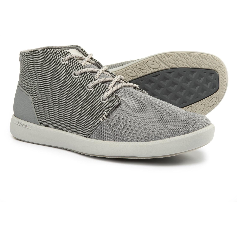 Merrell Freewheel Mesh Chukka Boots (For Men) in Wild Dove
