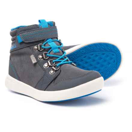 Merrell Freewheel Mid Boots (For Boys) in Grey - Closeouts