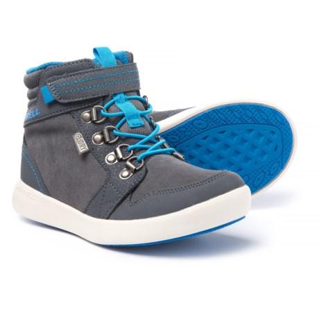 Merrell Freewheel Mid Boots (For Boys) in Grey
