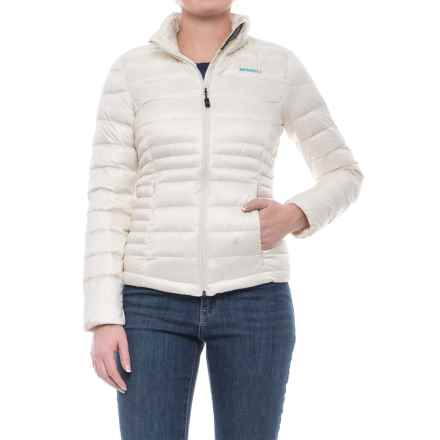 Merrell Frostwork Packable Down Jacket - 800 Fill Power (For Women) in Eggshell - Closeouts