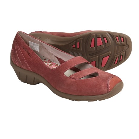 Merrell Gabriella Shoes - Leather (For Women) in Porcelain Rose