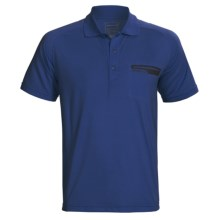 Merrell Geo Polo Shirt - UPF 20+, Short Sleeve (For Men) in Michigan - Closeouts