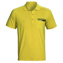 Merrell Geo Polo Shirt - UPF 20+, Short Sleeve (For Men) in Neptune - Closeouts