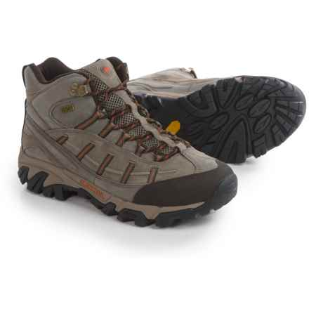 Merrell Geomorph Blaze Mid Hiking Boots - Waterproof (For Men) in Boulder - Closeouts