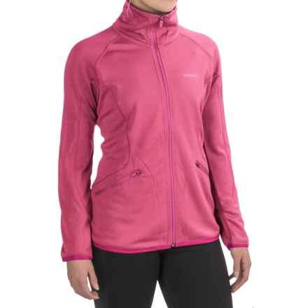 Merrell Geotex Fleece Jacket (For Women) in Sangria Heather - Closeouts