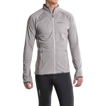 Merrell Geotex Fleece Jacket - Full Zip (For Men) in 005 Sidewalk - Closeouts