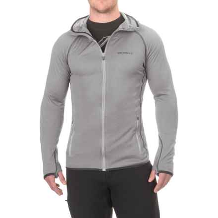Merrell Geotex Hoodie - Full Zip (For Men) in 005 Sidewalk - Closeouts