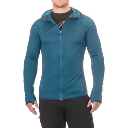 Merrell Geotex Hoodie - Full Zip (For Men) in Snorkel Blue - Closeouts