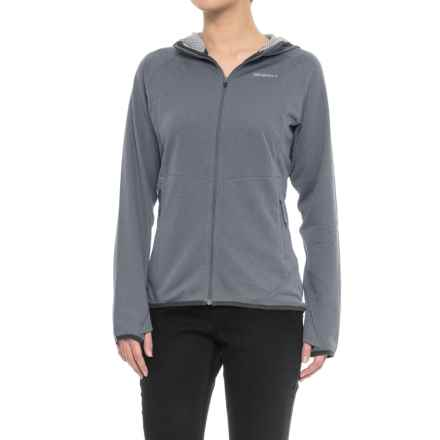 Merrell Geotex Hoodie - Full Zip (For Women) in Asphalt - Closeouts