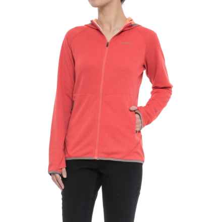 Merrell Geotex Hoodie - Full Zip (For Women) in Rose Of Sharon - Closeouts