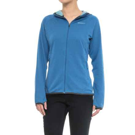 Merrell Geotex Hoodie - Full Zip (For Women) in Snorkel Blue - Closeouts