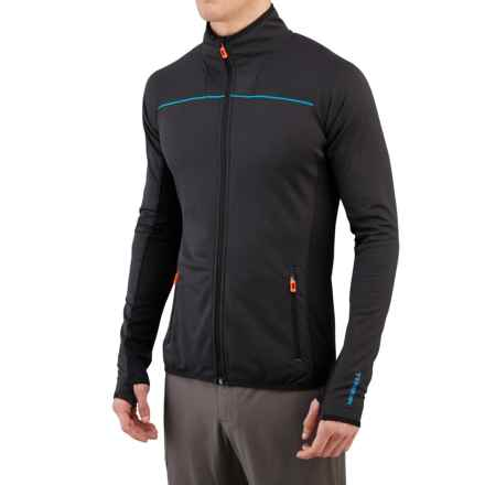 Merrell Geotex Speed Jacket (For Men) in Black Heather - Closeouts