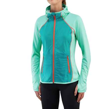 Merrell Geotex Wind Hybrid Jacket (For Women) in Cockatoo Heather - Closeouts