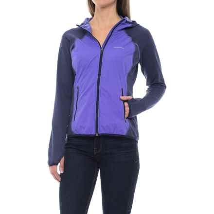 Merrell Geotex Wind Hybrid Jacket (For Women) in Eclipse Heather - Closeouts