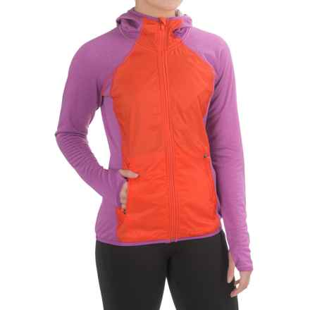 Merrell Geotex Wind Hybrid Jacket (For Women) in Hyacinth V Heather - Closeouts